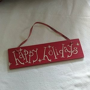 "3/$10 ""Happy Holidays"" Sign"
